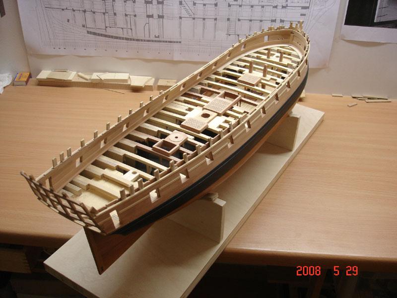 The 20 gun ship Sphinx 1775 at 1/48 Dsc03313