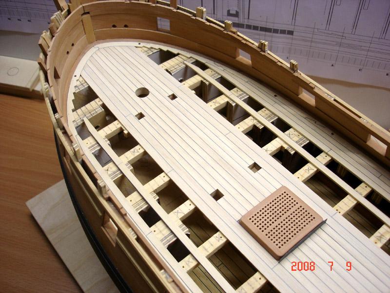 The 20 gun ship Sphinx 1775 at 1/48 Dsc03412