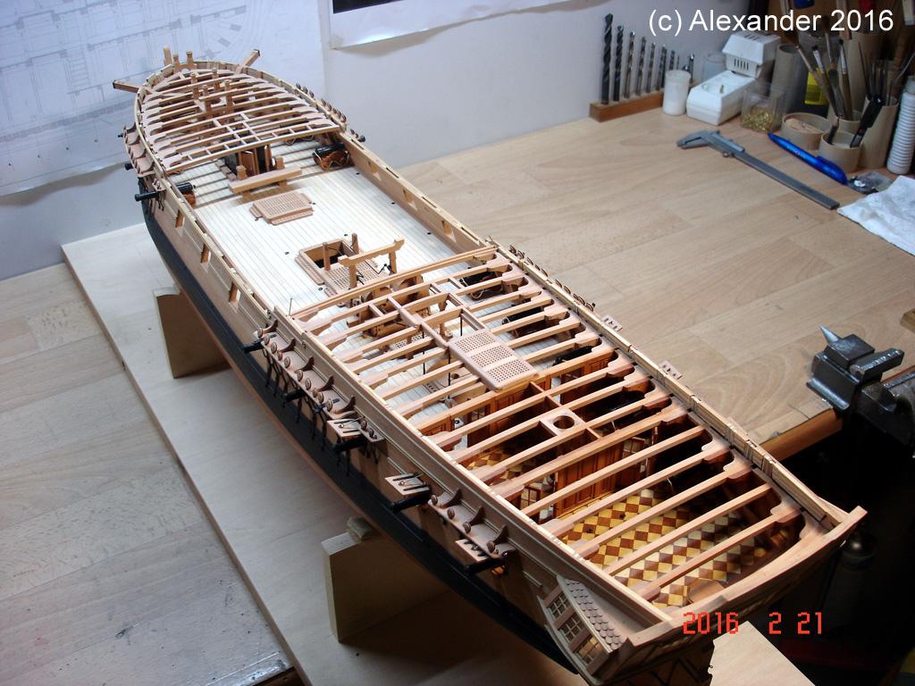 The 20 gun ship Sphinx 1775 at 1/48 - Page 5 Dsc03610