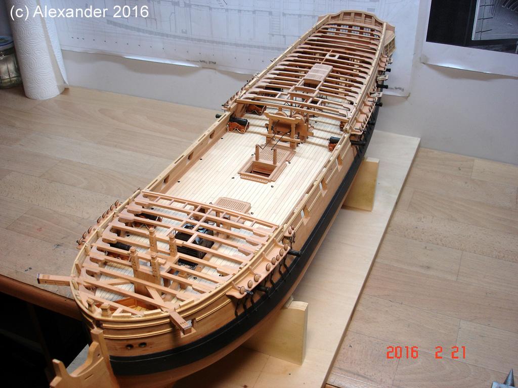The 20 gun ship Sphinx 1775 at 1/48 - Page 5 Dsc03611