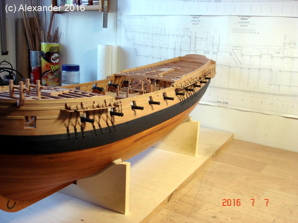 The 20 gun ship Sphinx 1775 at 1/48 - Page 5 Dsc03712