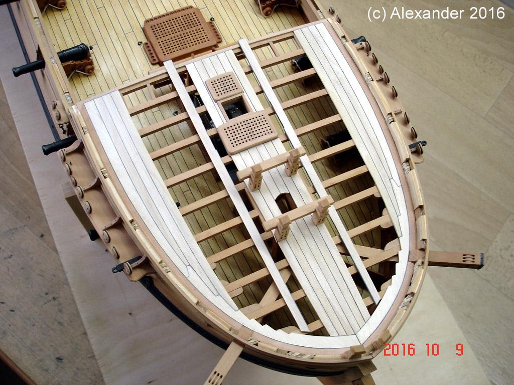 The 20 gun ship Sphinx 1775 at 1/48 - Page 5 Dsc03716