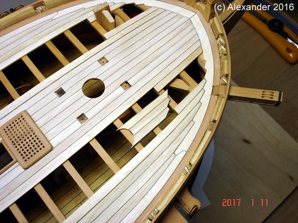 The 20 gun ship Sphinx 1775 at 1/48 - Page 5 Dsc03719