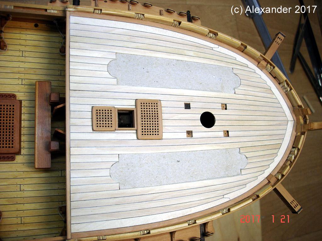 The 20 gun ship Sphinx 1775 at 1/48 - Page 5 Dsc03721