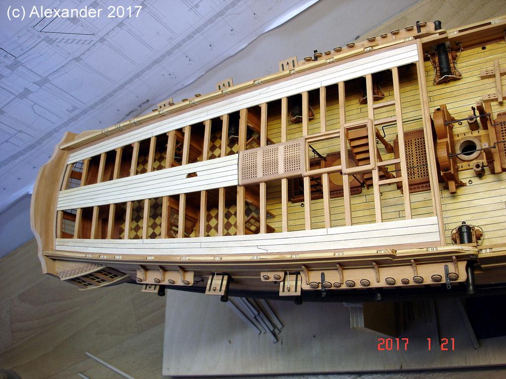 The 20 gun ship Sphinx 1775 at 1/48 - Page 5 Dsc03722