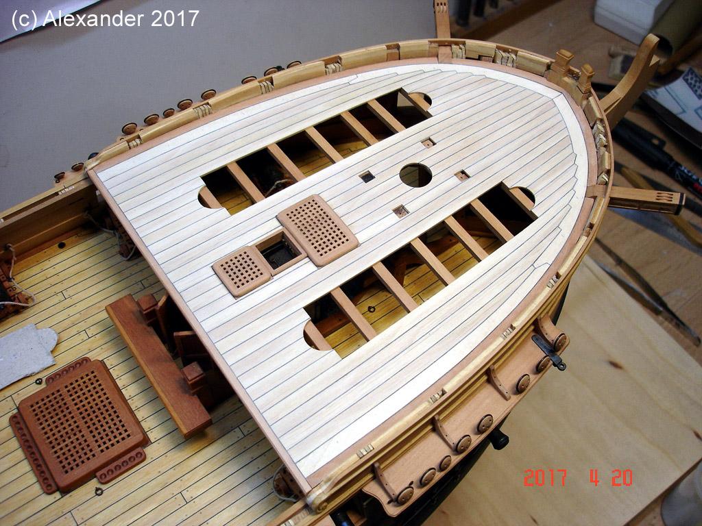 The 20 gun ship Sphinx 1775 at 1/48 - Page 5 Dsc03810