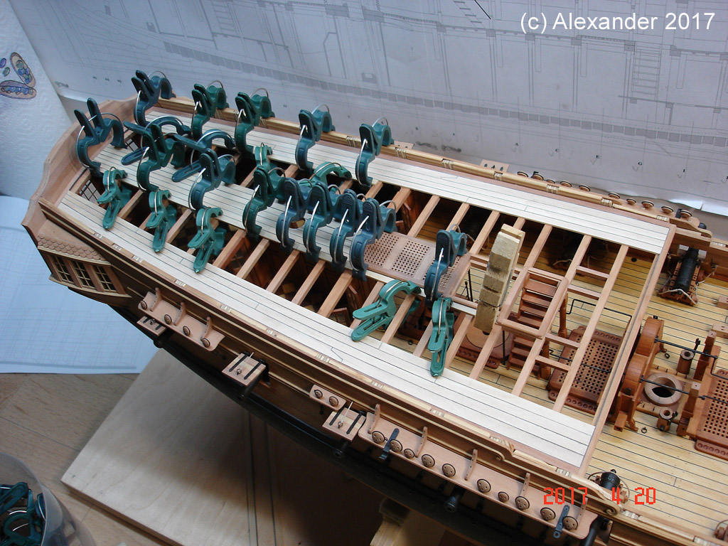 The 20 gun ship Sphinx 1775 at 1/48 - Page 5 Dsc03811