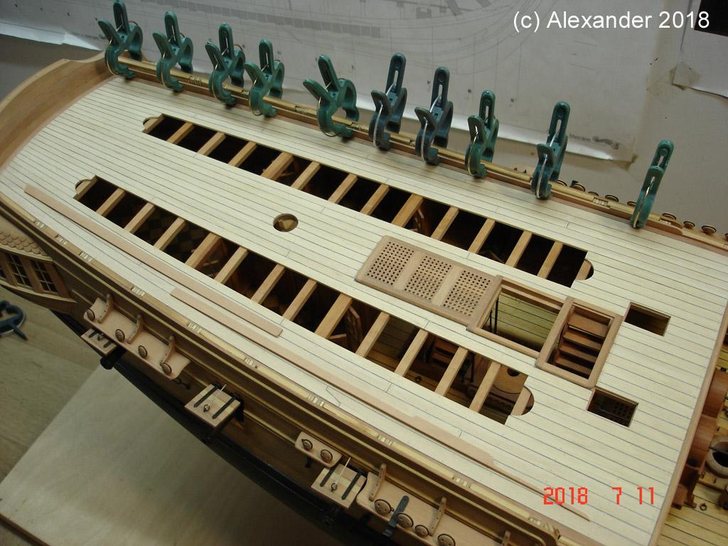 The 20 gun ship Sphinx 1775 at 1/48 - Page 5 Dsc04115