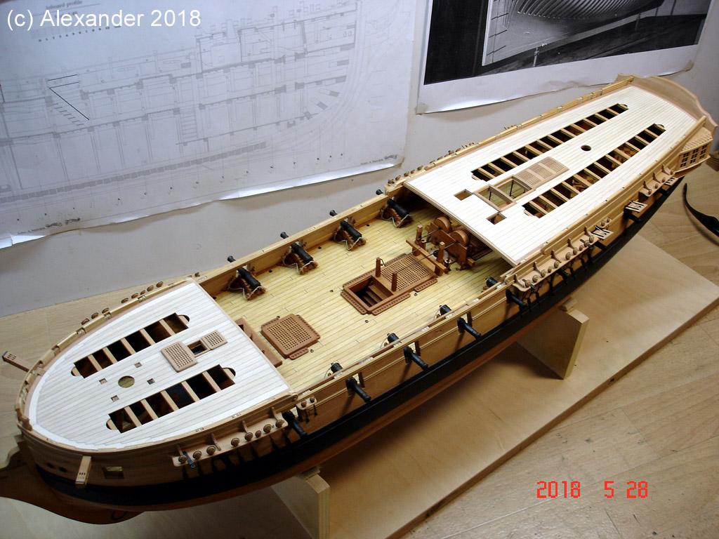 The 20 gun ship Sphinx 1775 at 1/48 - Page 5 Dsc04116