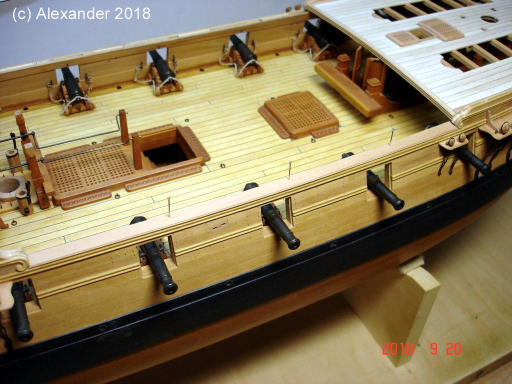 The 20 gun ship Sphinx 1775 at 1/48 - Page 5 Dsc04118