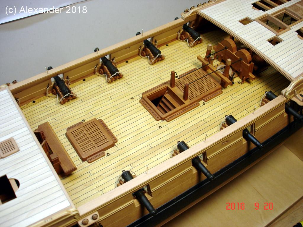 The 20 gun ship Sphinx 1775 at 1/48 - Page 5 Dsc04119