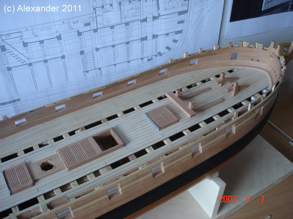 The 20 gun ship Sphinx 1775 at 1/48 Dsc04510