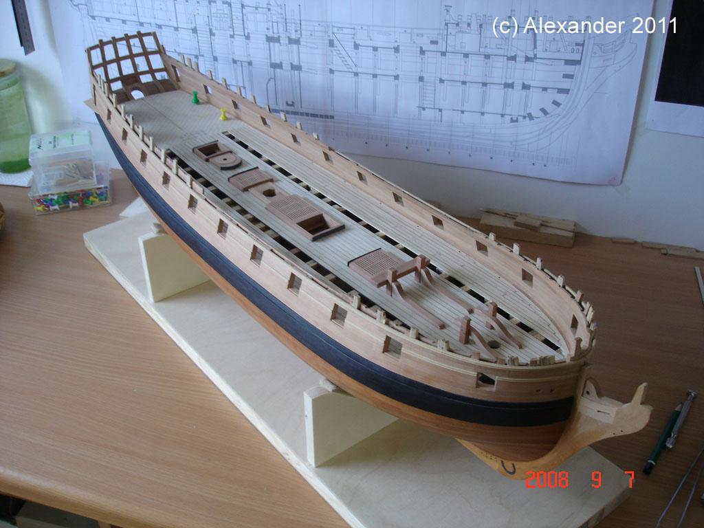 The 20 gun ship Sphinx 1775 at 1/48 Dsc04610