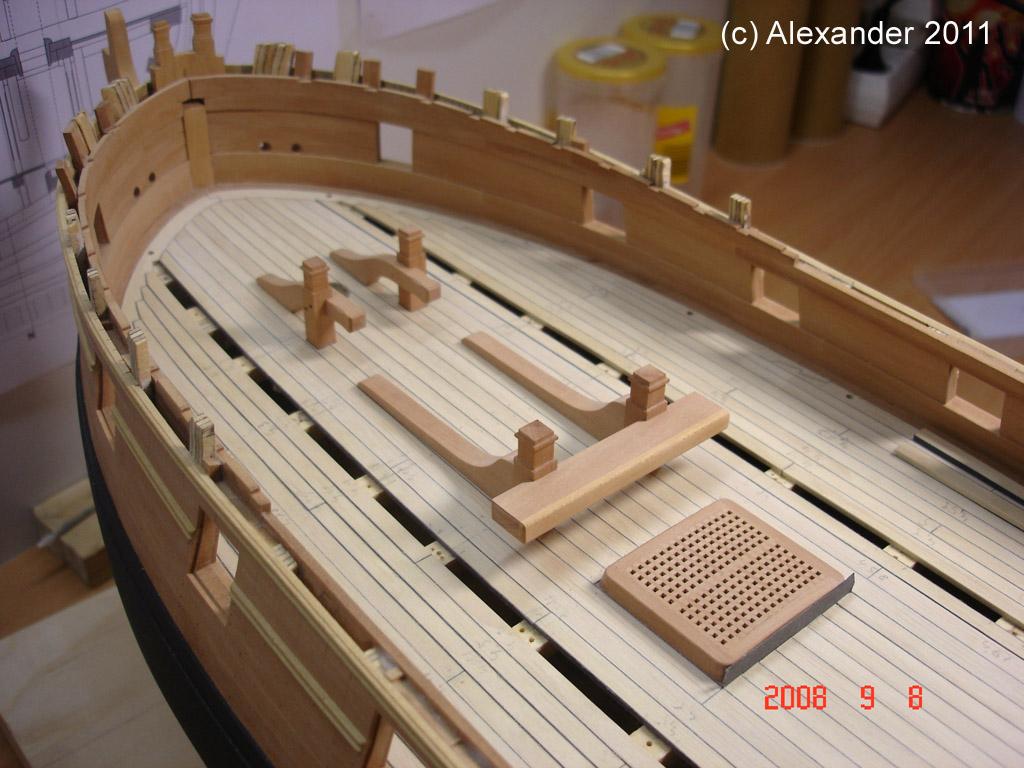 The 20 gun ship Sphinx 1775 at 1/48 Dsc04611