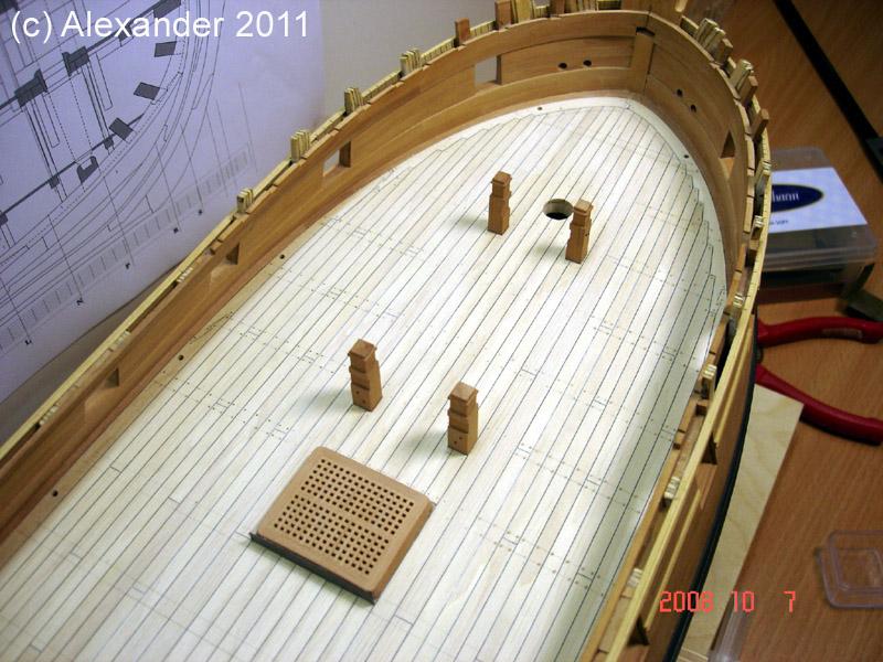 The 20 gun ship Sphinx 1775 at 1/48 Dsc04810