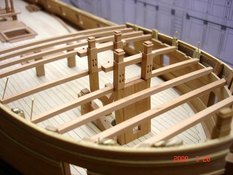 The 20 gun ship Sphinx 1775 at 1/48 Dsc05317