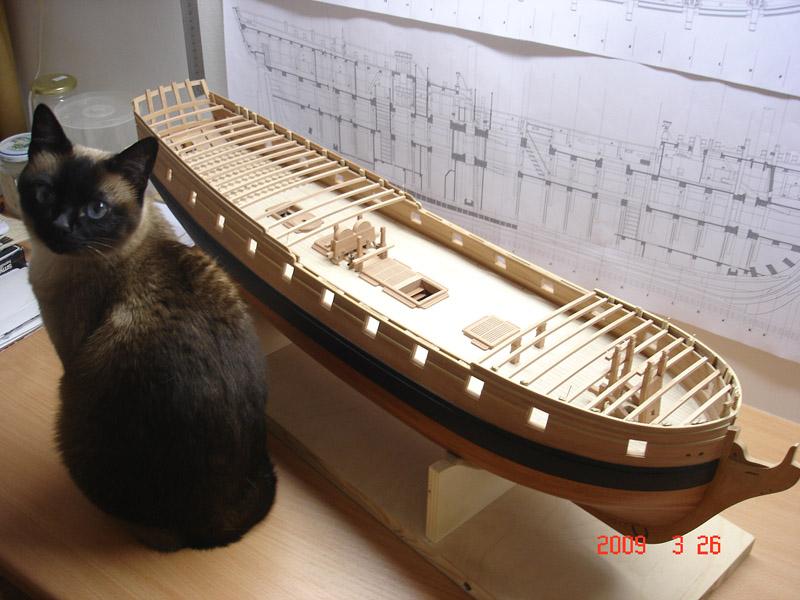 The 20 gun ship Sphinx 1775 at 1/48 Dsc05320