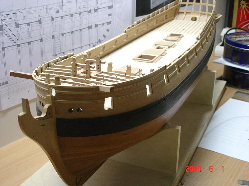 The 20 gun ship Sphinx 1775 at 1/48 Dsc06011