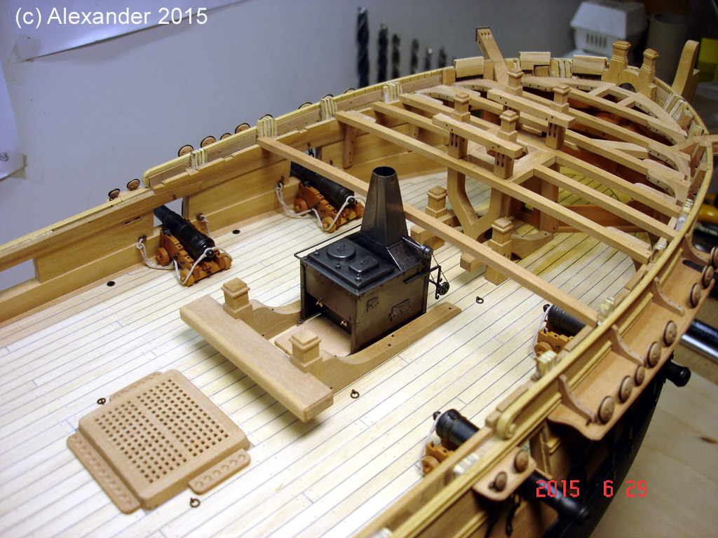 The 20 gun ship Sphinx 1775 at 1/48 - Page 4 Post-213