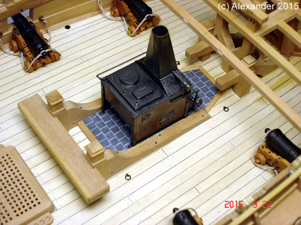 The 20 gun ship Sphinx 1775 at 1/48 - Page 4 Post-222