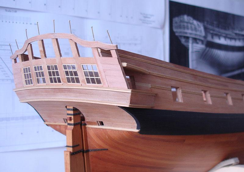 The 20 gun ship Sphinx 1775 at 1/48 - Page 3 Post-832