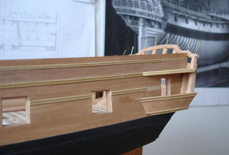 The 20 gun ship Sphinx 1775 at 1/48 - Page 3 Post-834