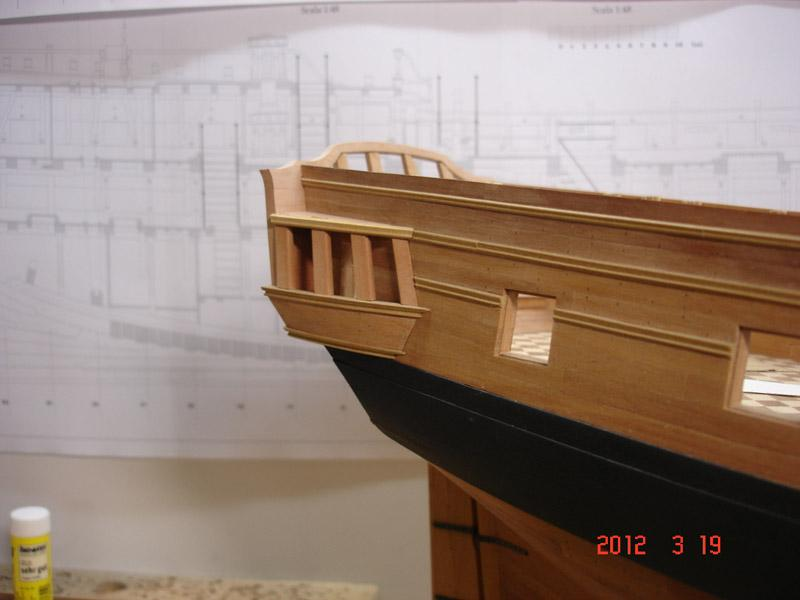 The 20 gun ship Sphinx 1775 at 1/48 - Page 3 Post-836