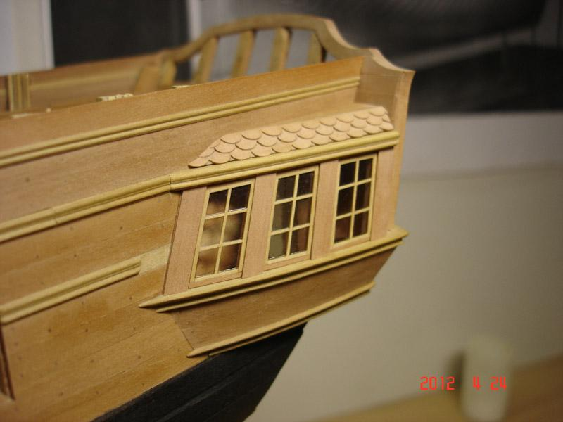 The 20 gun ship Sphinx 1775 at 1/48 - Page 3 Post-838