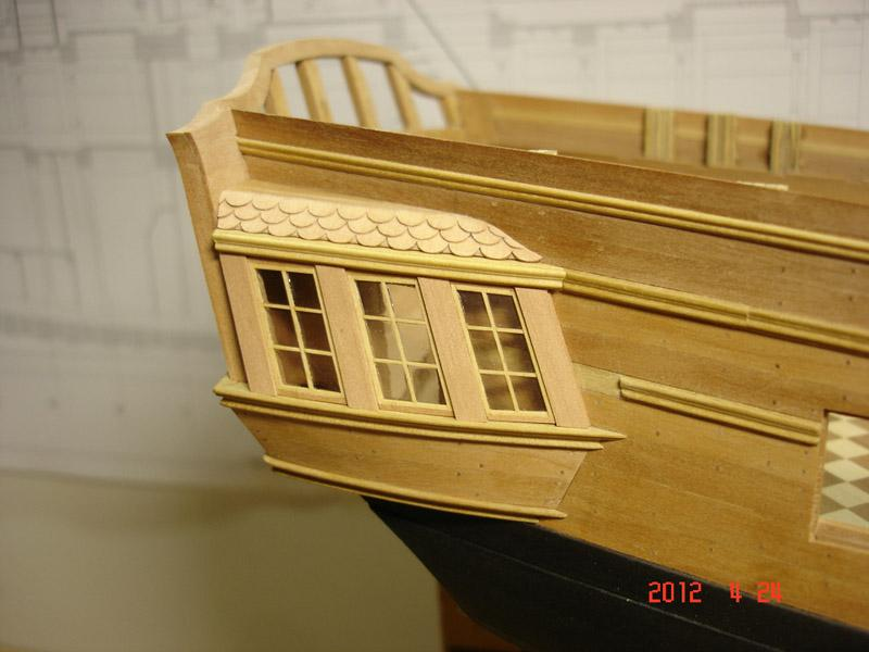 The 20 gun ship Sphinx 1775 at 1/48 - Page 3 Post-839