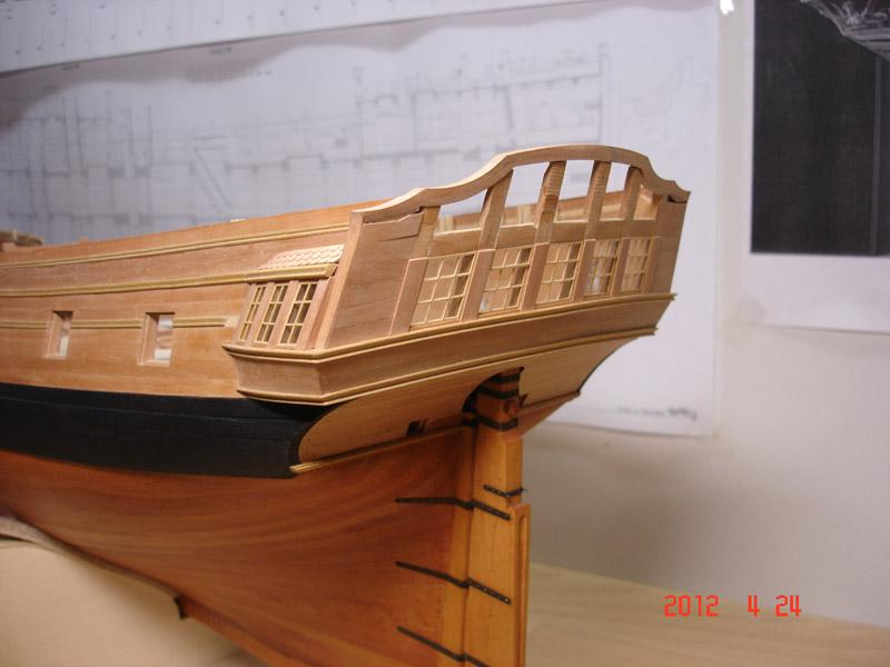 The 20 gun ship Sphinx 1775 at 1/48 - Page 3 Post-840