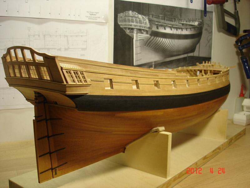 The 20 gun ship Sphinx 1775 at 1/48 - Page 3 Post-841