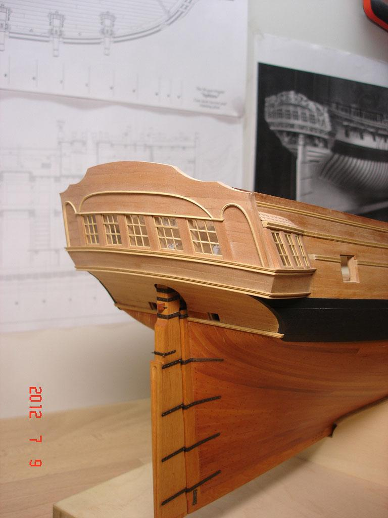 The 20 gun ship Sphinx 1775 at 1/48 - Page 3 Post-843