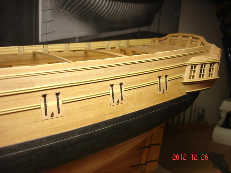 The 20 gun ship Sphinx 1775 at 1/48 - Page 3 Post-854
