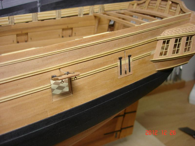 The 20 gun ship Sphinx 1775 at 1/48 - Page 3 Post-856