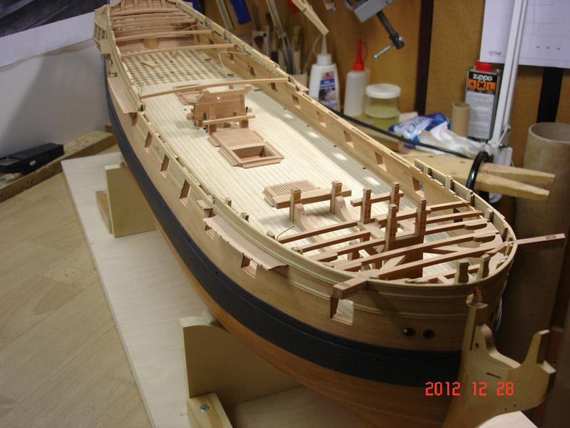 The 20 gun ship Sphinx 1775 at 1/48 - Page 3 Post-857