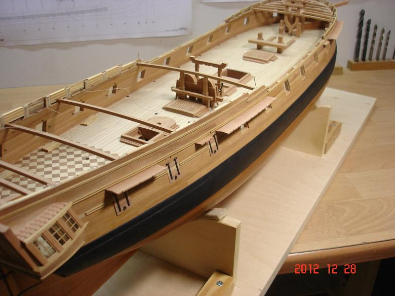 The 20 gun ship Sphinx 1775 at 1/48 - Page 3 Post-858