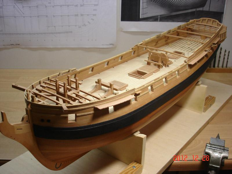The 20 gun ship Sphinx 1775 at 1/48 - Page 3 Post-859