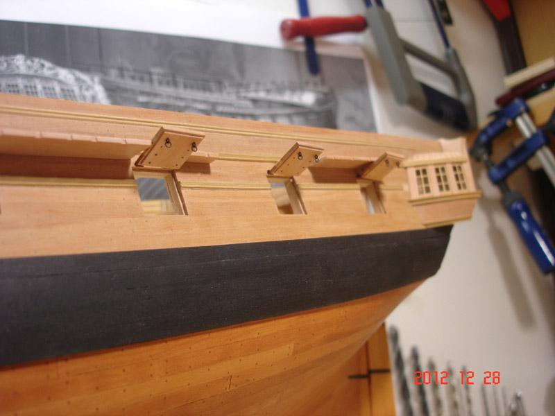 The 20 gun ship Sphinx 1775 at 1/48 - Page 3 Post-860