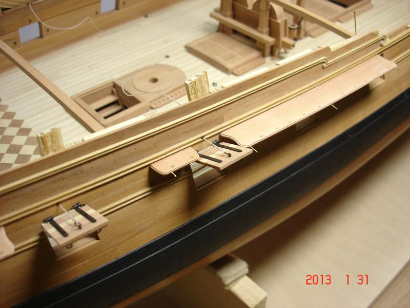 The 20 gun ship Sphinx 1775 at 1/48 - Page 3 Post-861