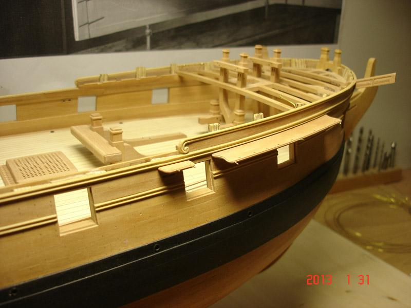 The 20 gun ship Sphinx 1775 at 1/48 - Page 3 Post-862