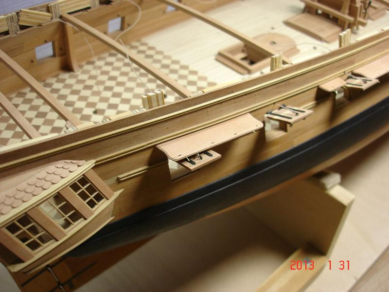The 20 gun ship Sphinx 1775 at 1/48 - Page 3 Post-863