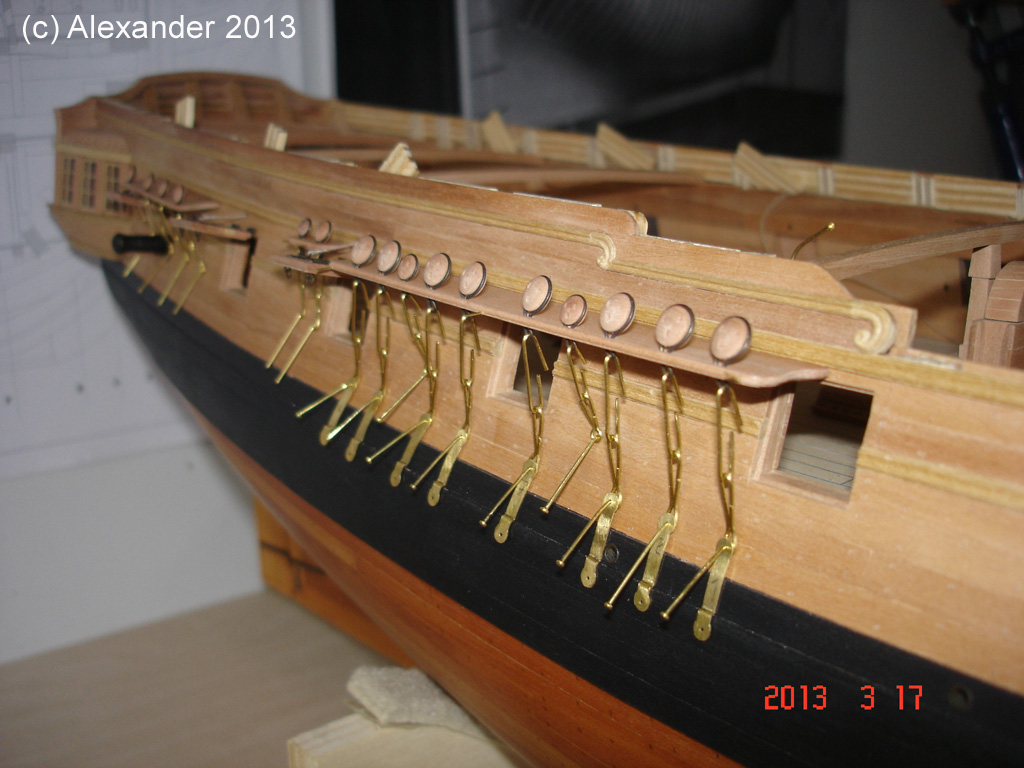 The 20 gun ship Sphinx 1775 at 1/48 - Page 3 Post-892
