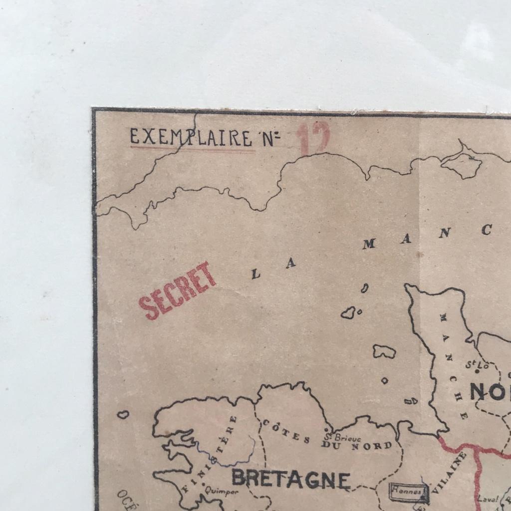 Plan de division de la francs en provinces - Vichy Img-3610