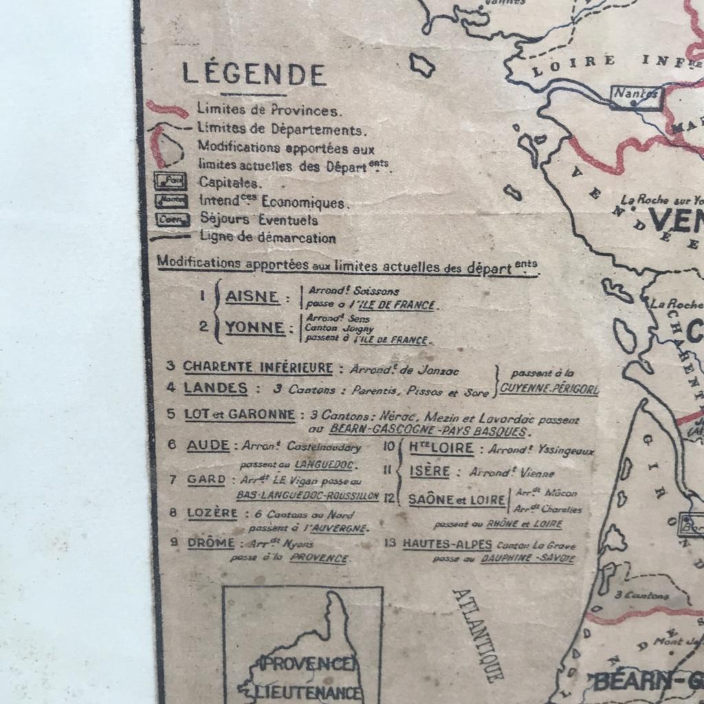Plan de division de la francs en provinces - Vichy Img-3611