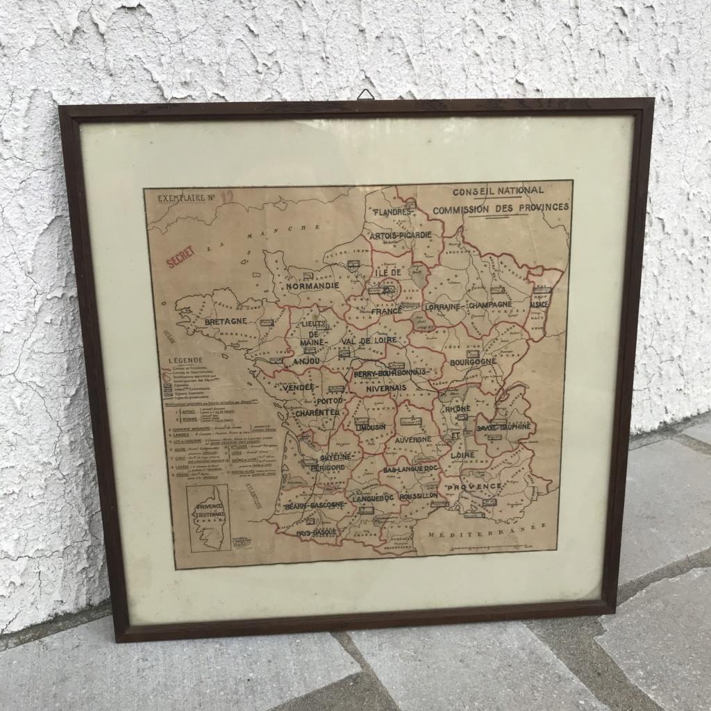 Plan de division de la francs en provinces - Vichy Img-3612
