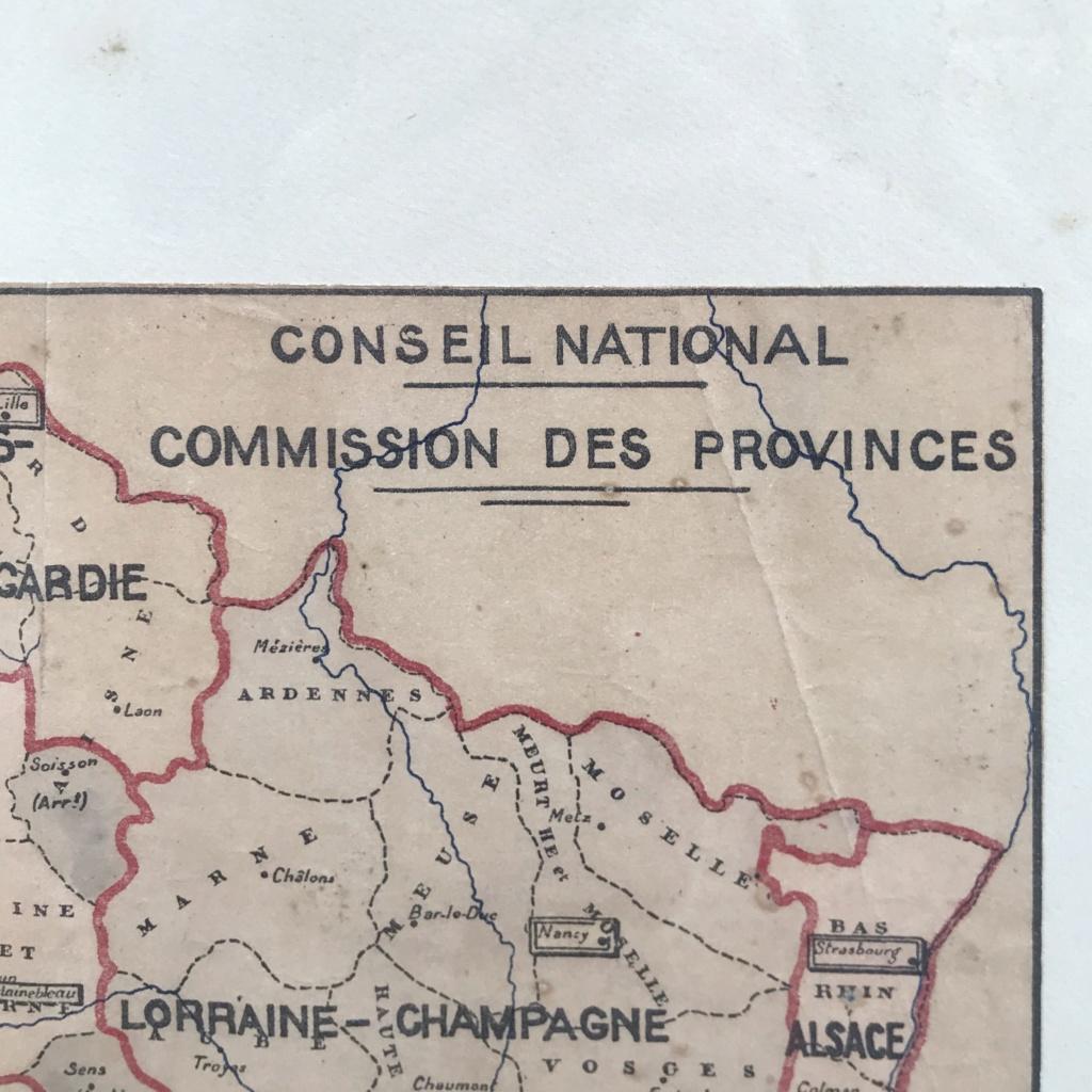 Plan de division de la francs en provinces - Vichy Img-3613