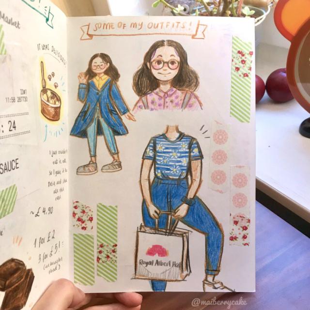 Mai's Sketchbook Dv6neu11
