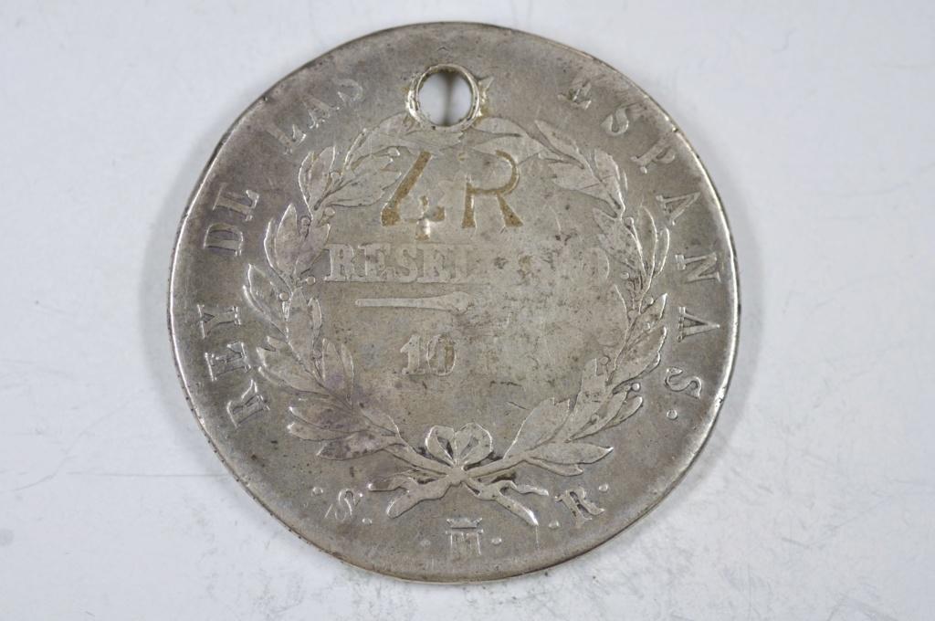 10 Reales de Vellón - Fernando VII 1821 ¿Resello SL? _dsc0711