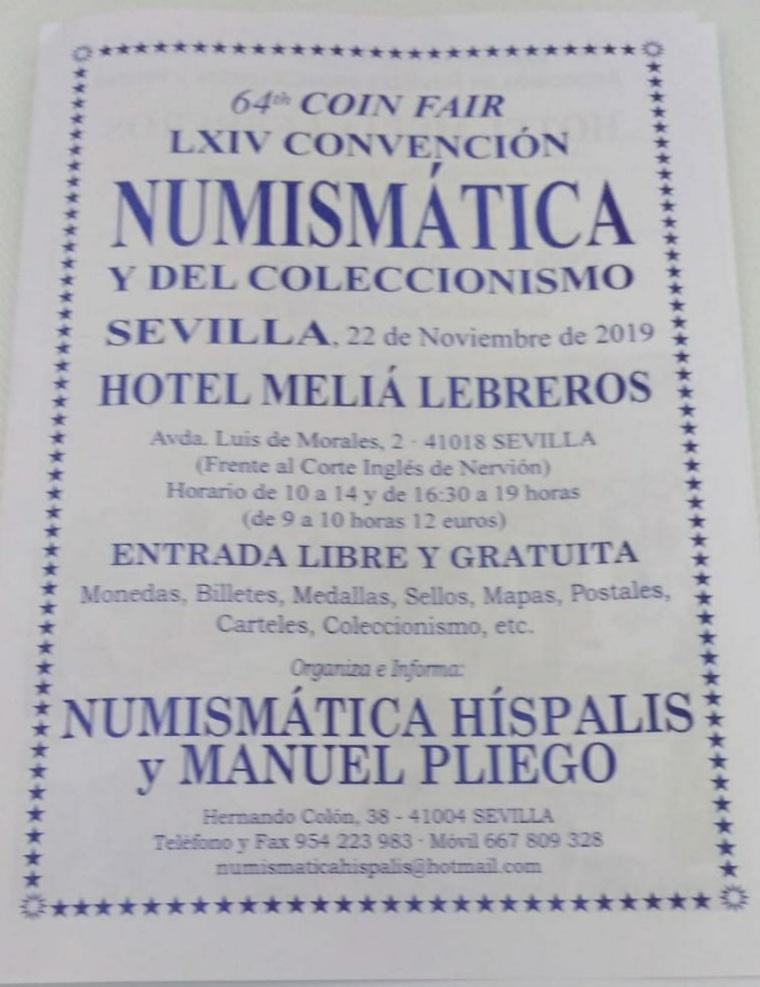 Convención Numismática SEVILLA 2019 - 22 Noviembre Img_2013