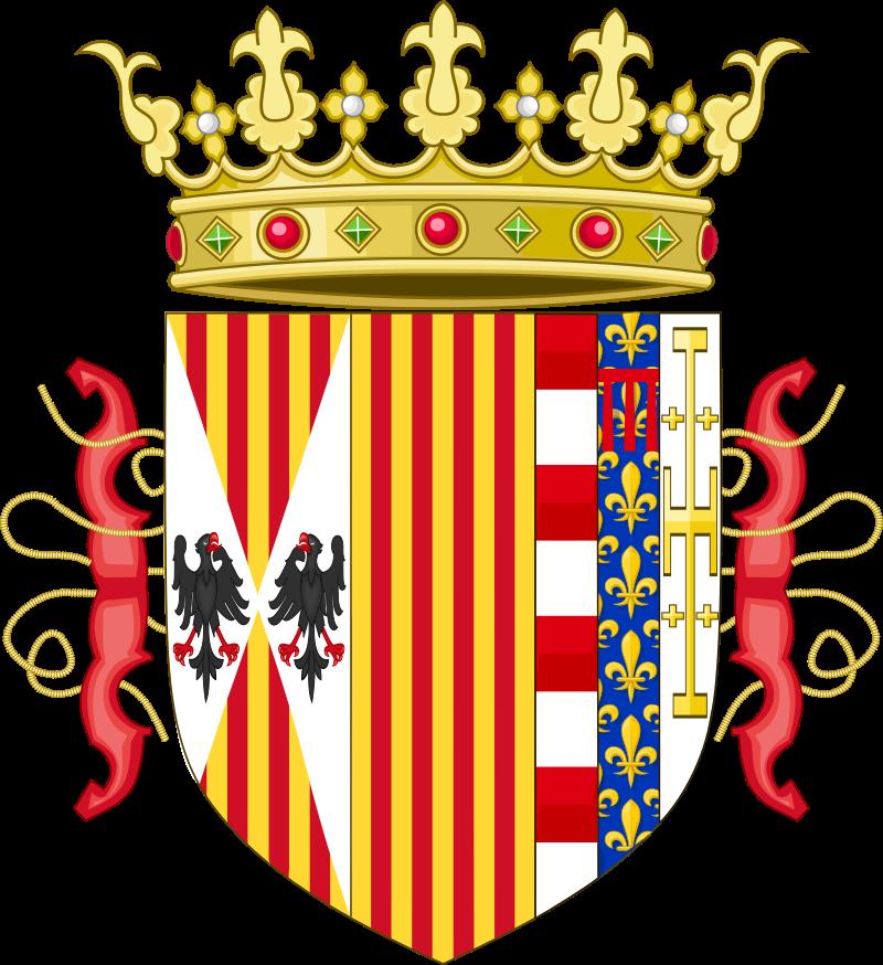 Duda con armas Real Reyes Católicos Lesser10